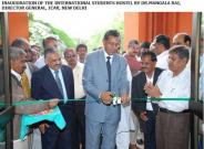 Inauguration of the international student hostel